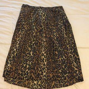 Kasper LEOPARD skirt and blazer set